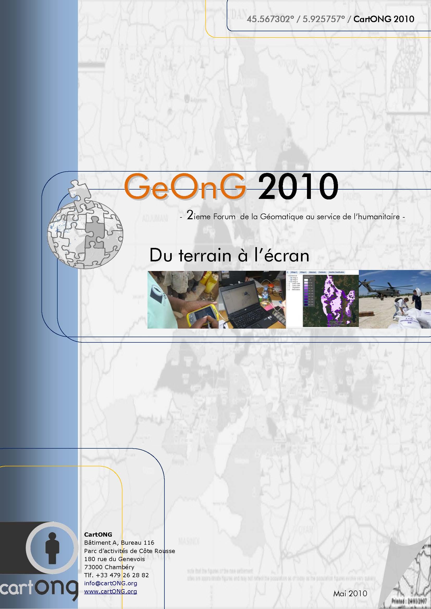 Dossier GeOnG