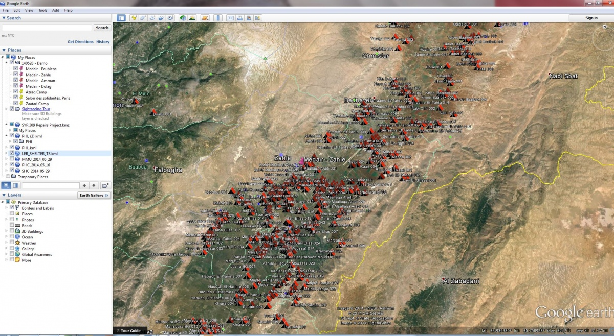 Screenshot Medair Liban