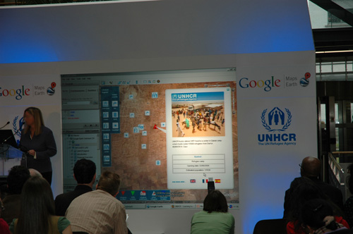 Launch of the humanitarian Google outreach